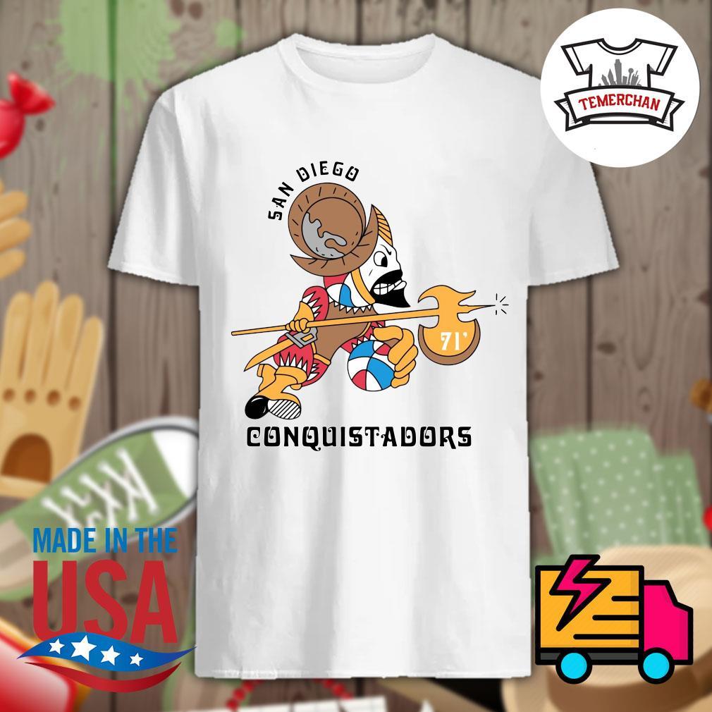 1972 San Diego Conquistadors shirt
