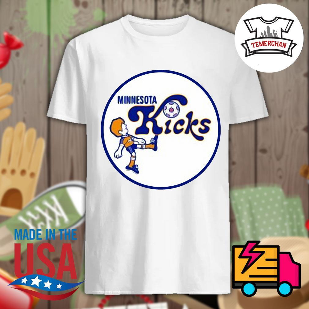 1976 Minnesota Kicks shirt