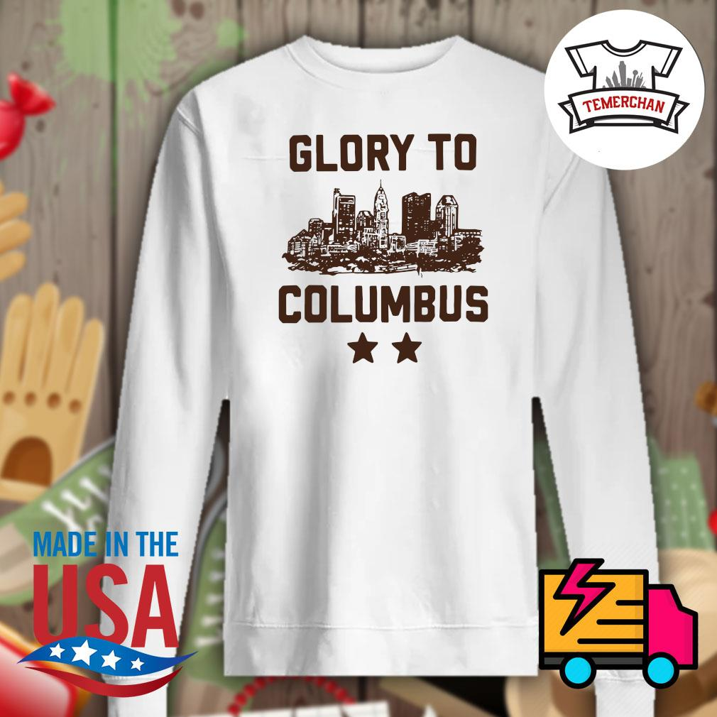 Glory to Columbus s Sweater
