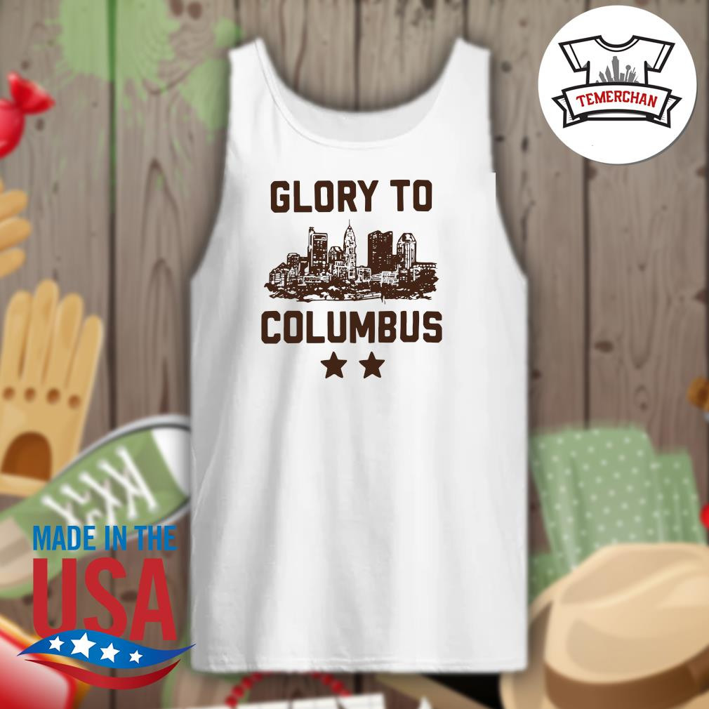 Glory to Columbus s Tank-top