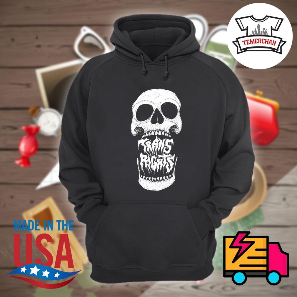 Skull Trans Rights s Hoodie