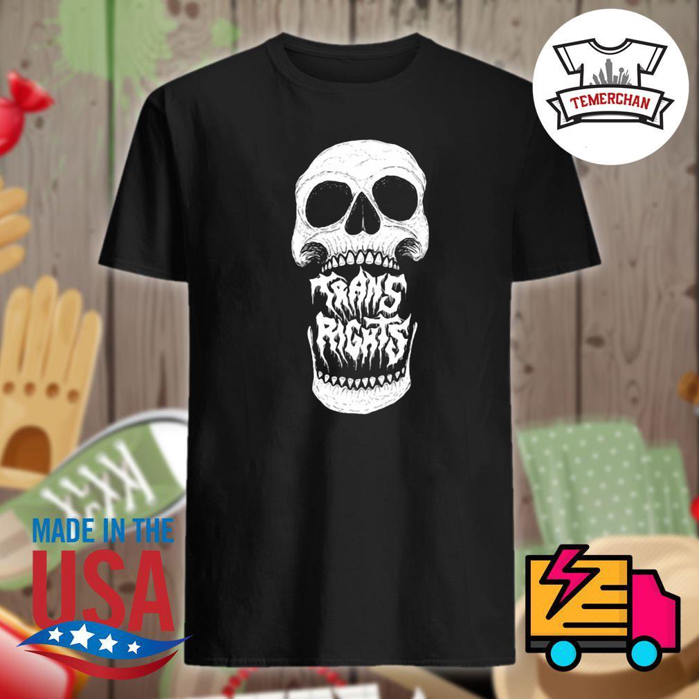 Skull Trans Rights shirt
