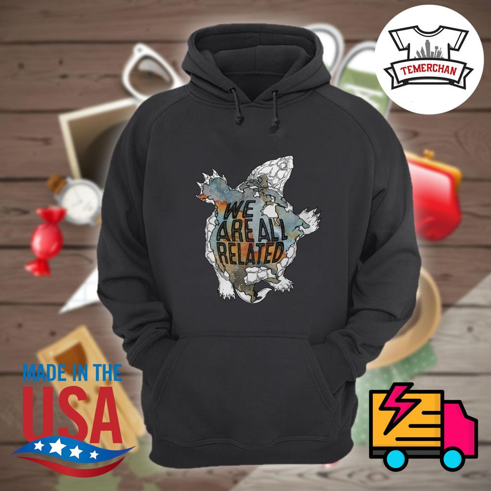 Turtle we are all related s Hoodie