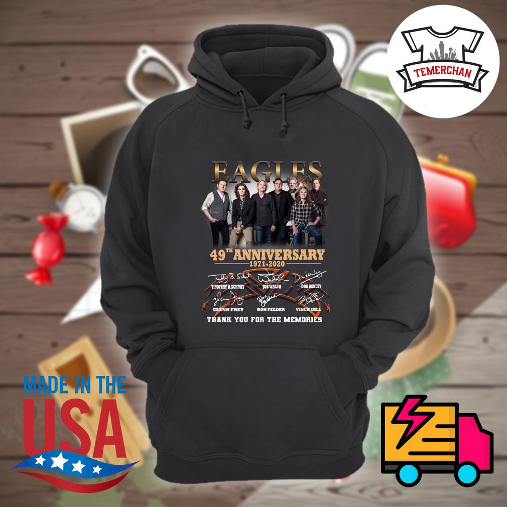 Eagles 49th anniversary 1971-2020 thank you for the memories s Hoodie