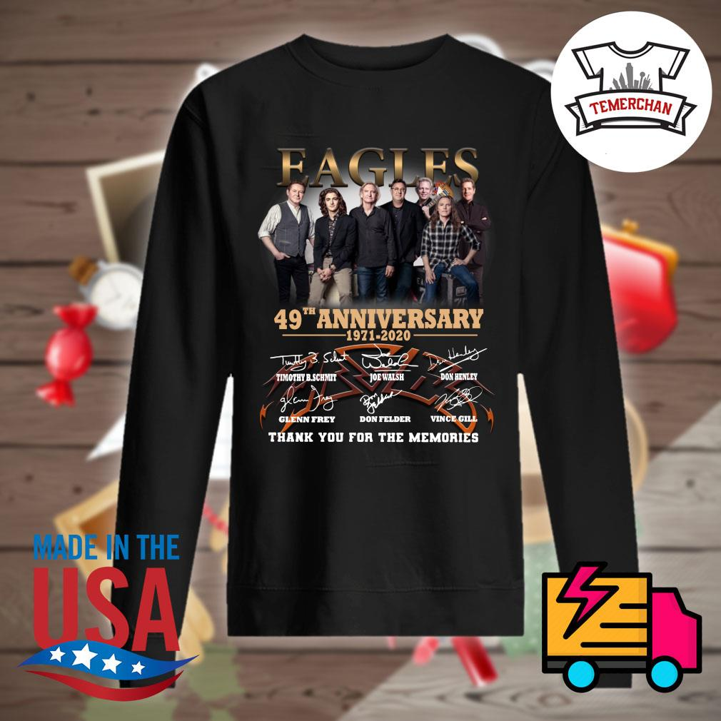 Eagles 49th anniversary 1971-2020 thank you for the memories s Sweater