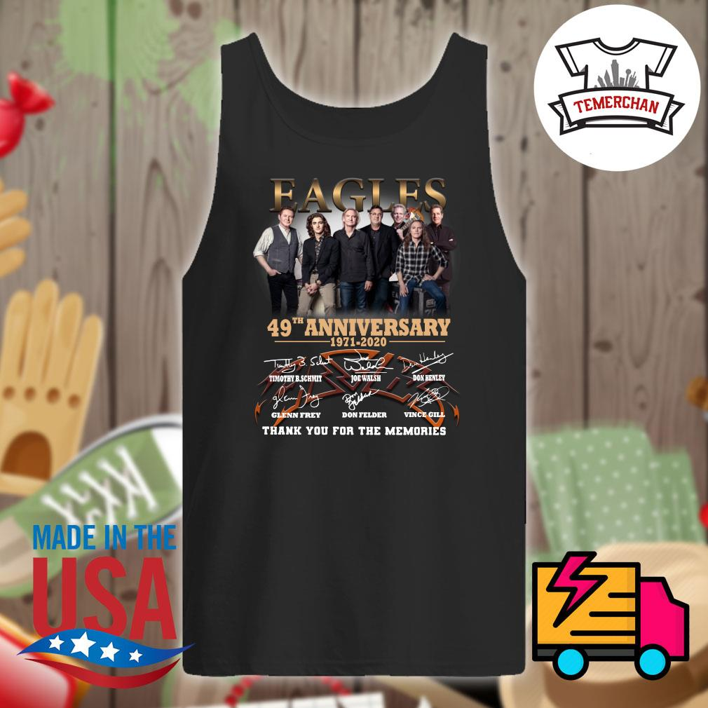Eagles 49th anniversary 1971-2020 thank you for the memories s Tank-top