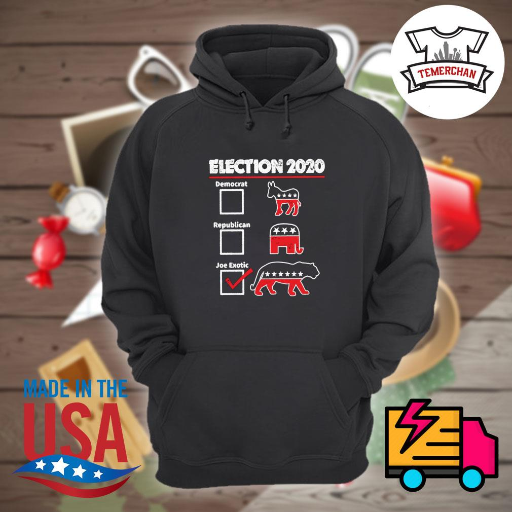 Election 2020 democrat republican joe exotic s Hoodie