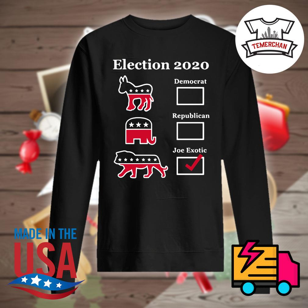 Election 2020 Democrat Republican Joe Exotic s Sweater