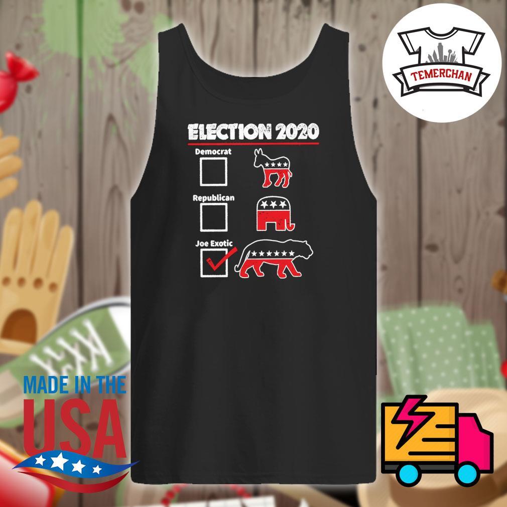 Election 2020 democrat republican joe exotic s Tank-top