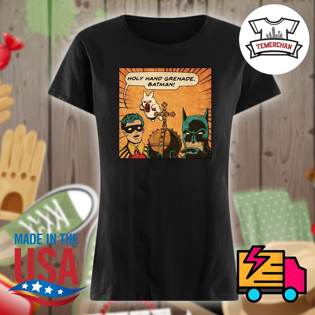 Holy hand greanade batman s Ladies t-shirt