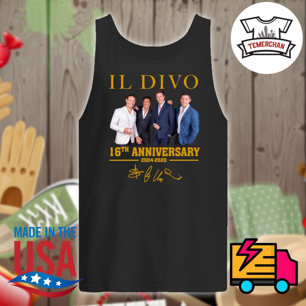 Il Divo 16th 2004-2020 anniversary s Tank-top