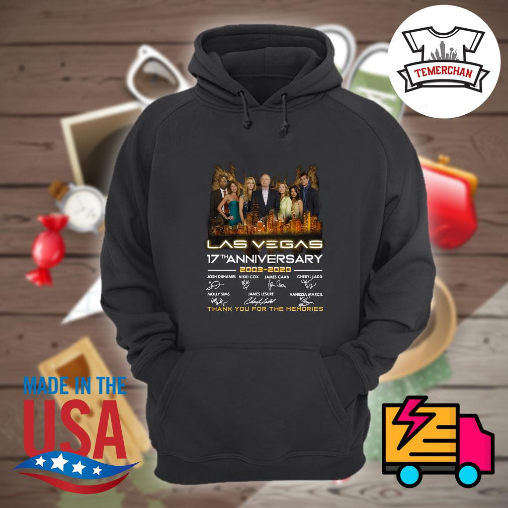 Las Vegas 17th anniversary 2003 2020 thank you the memories s Hoodie