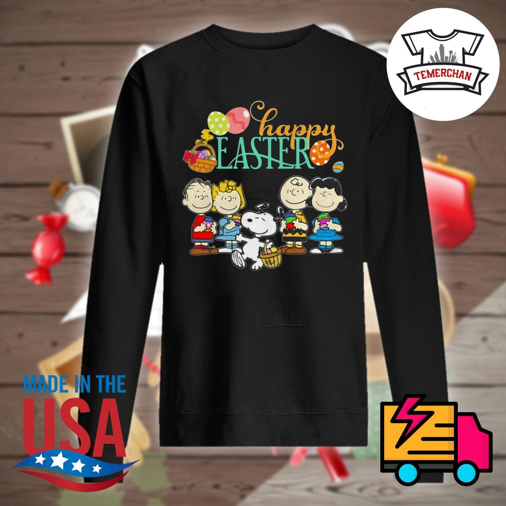 Snoopy and friends happy easter s Sweater