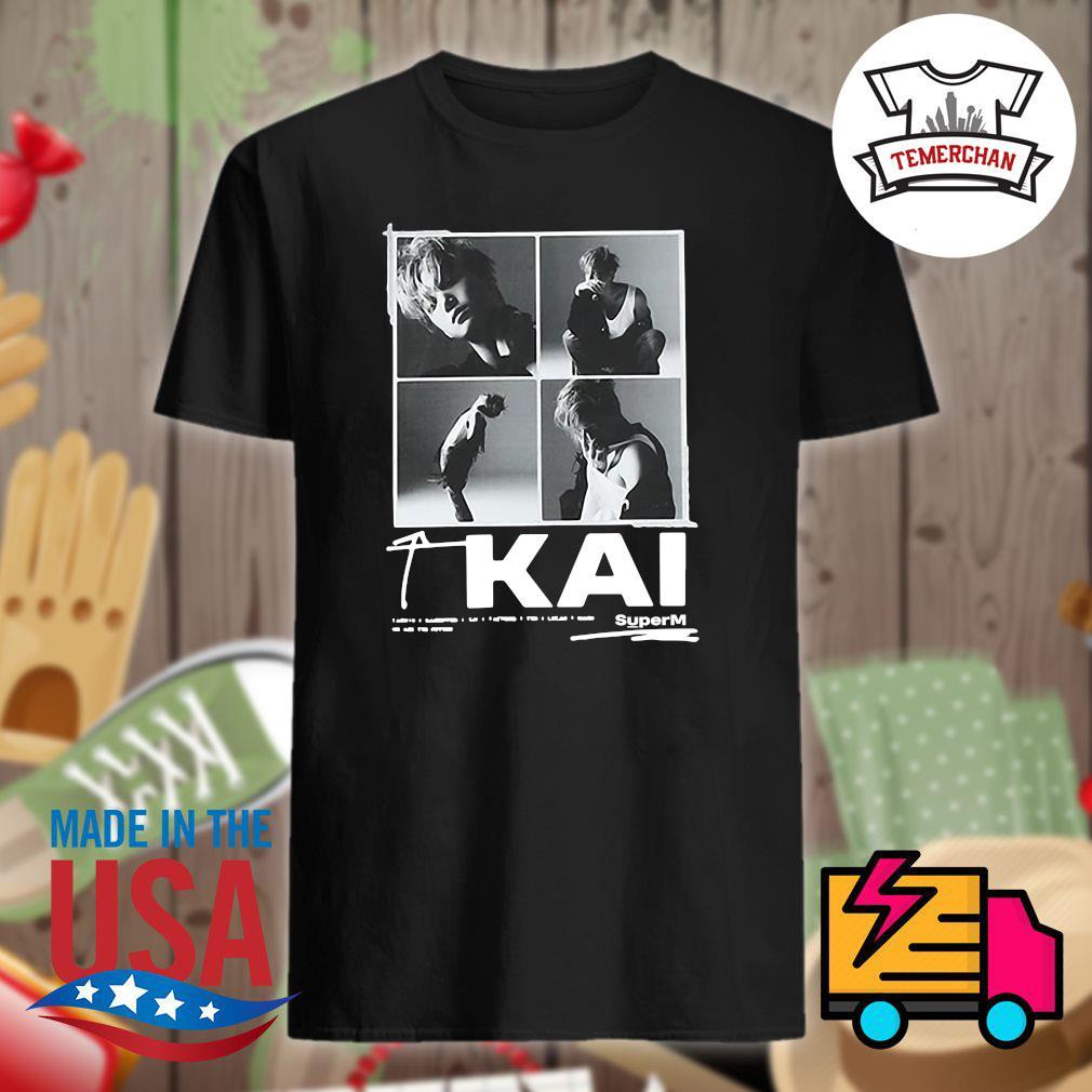 KAI superM shirt
