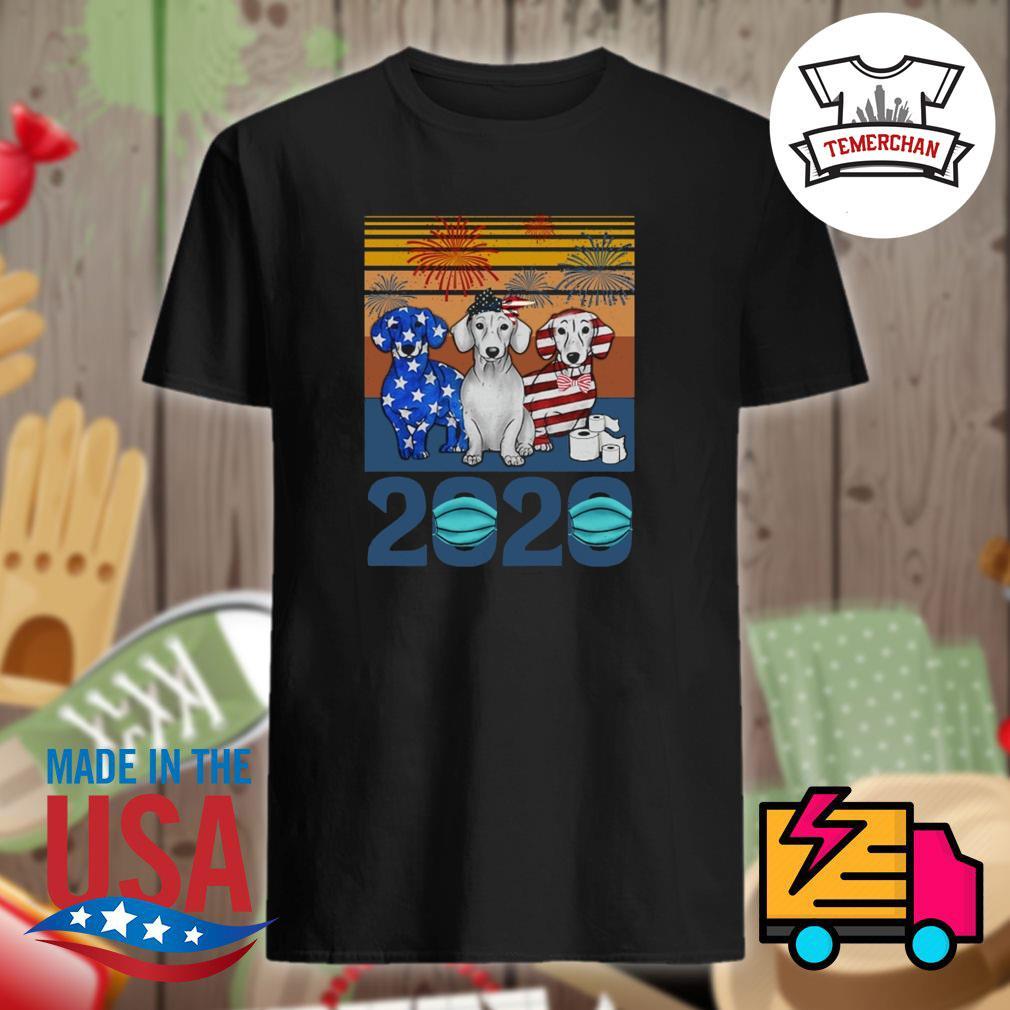 Dalmatian toilet paper 2020 vintage shirt