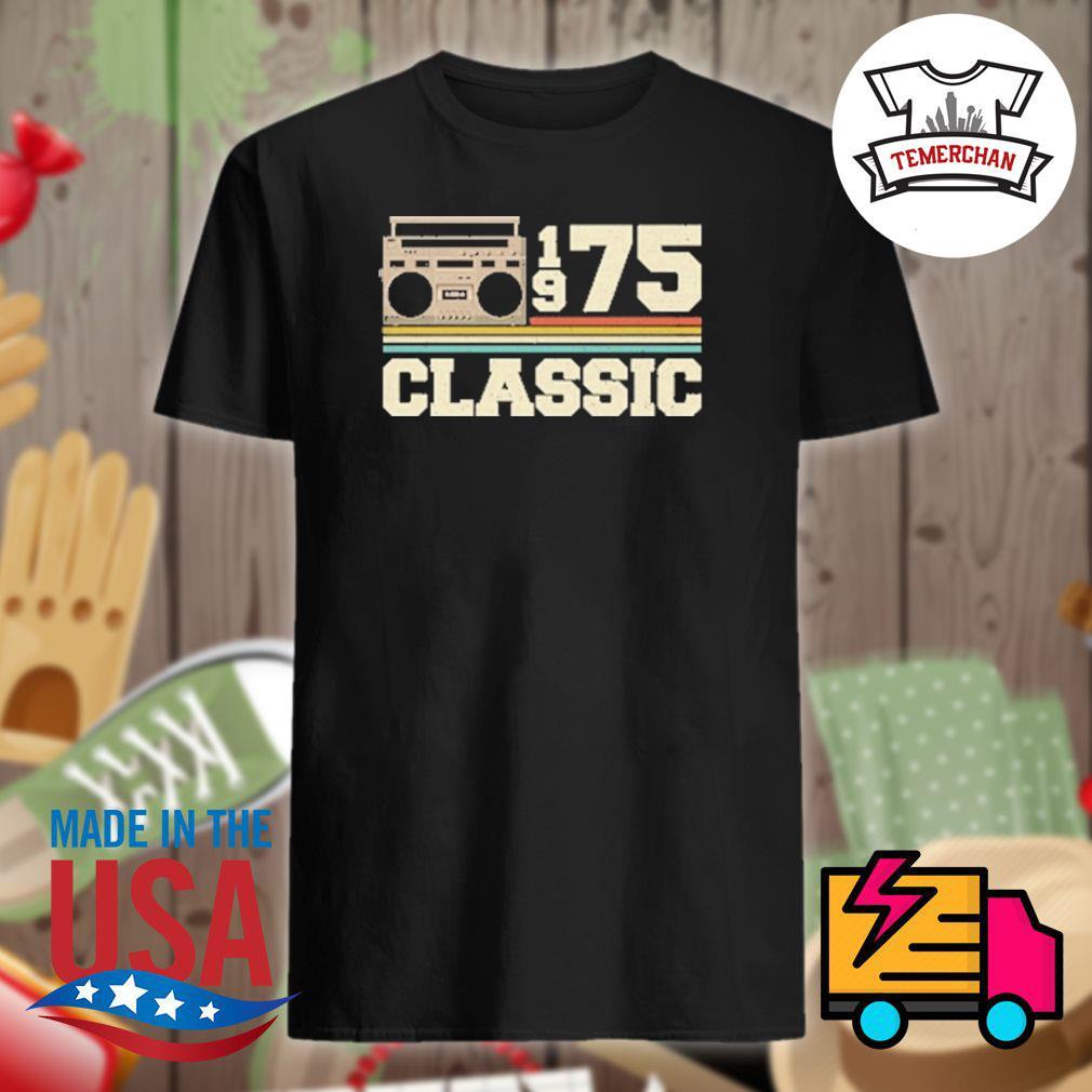 Vintage Cassette 1975 classic shirt