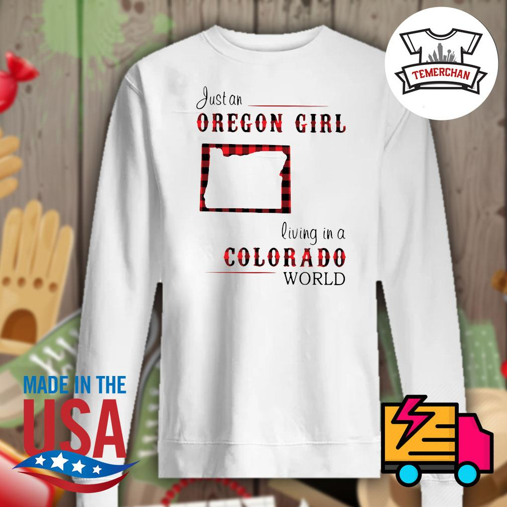 Just an oregon girl living in a colorado world s Sweater
