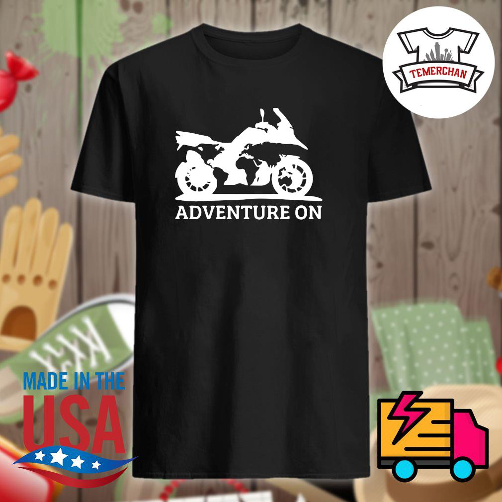Motor Adventure on shirt
