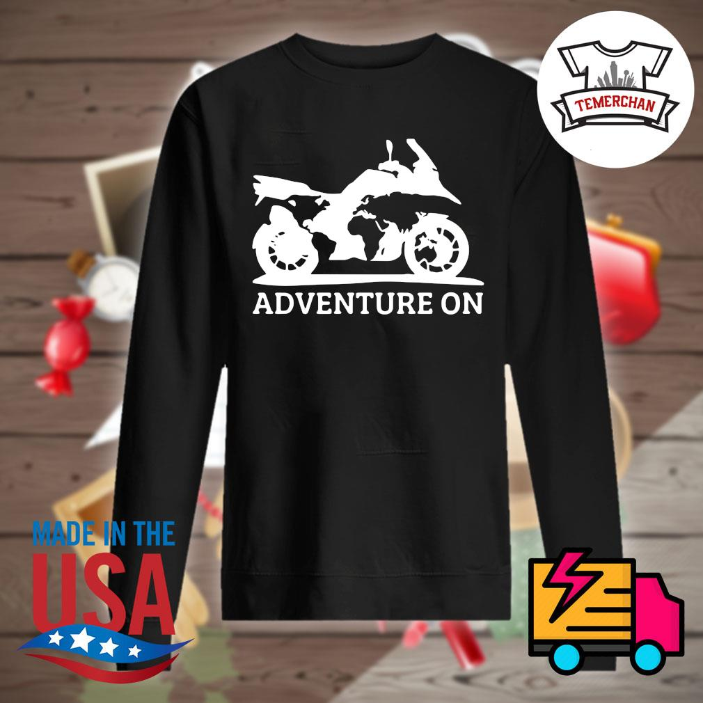 Motor Adventure on s Sweater