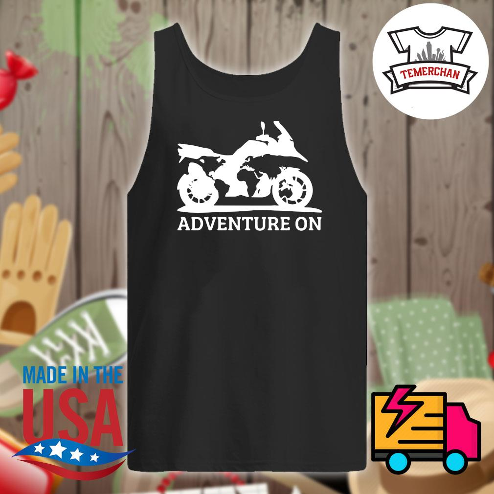 Motor Adventure on s Tank-top