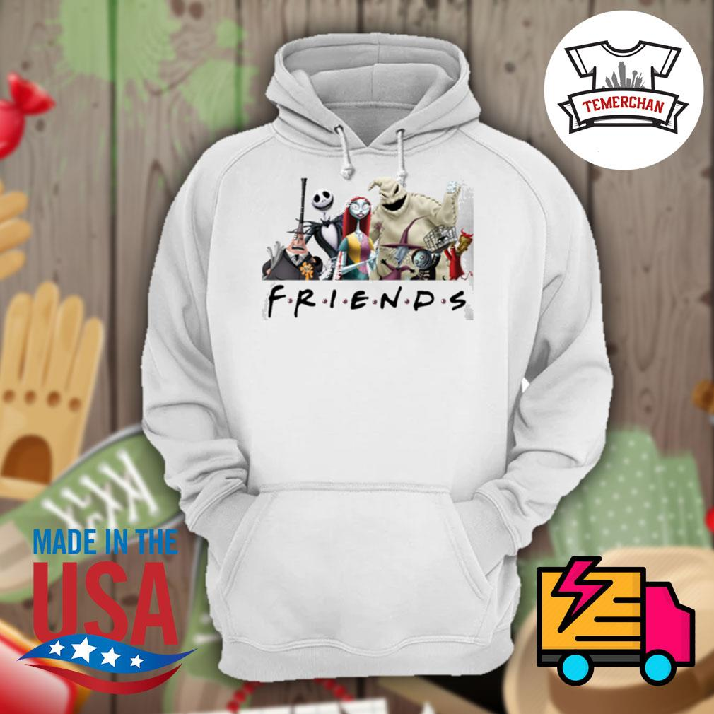 The Nightmare Before Christmas characters Friends s Hoodie