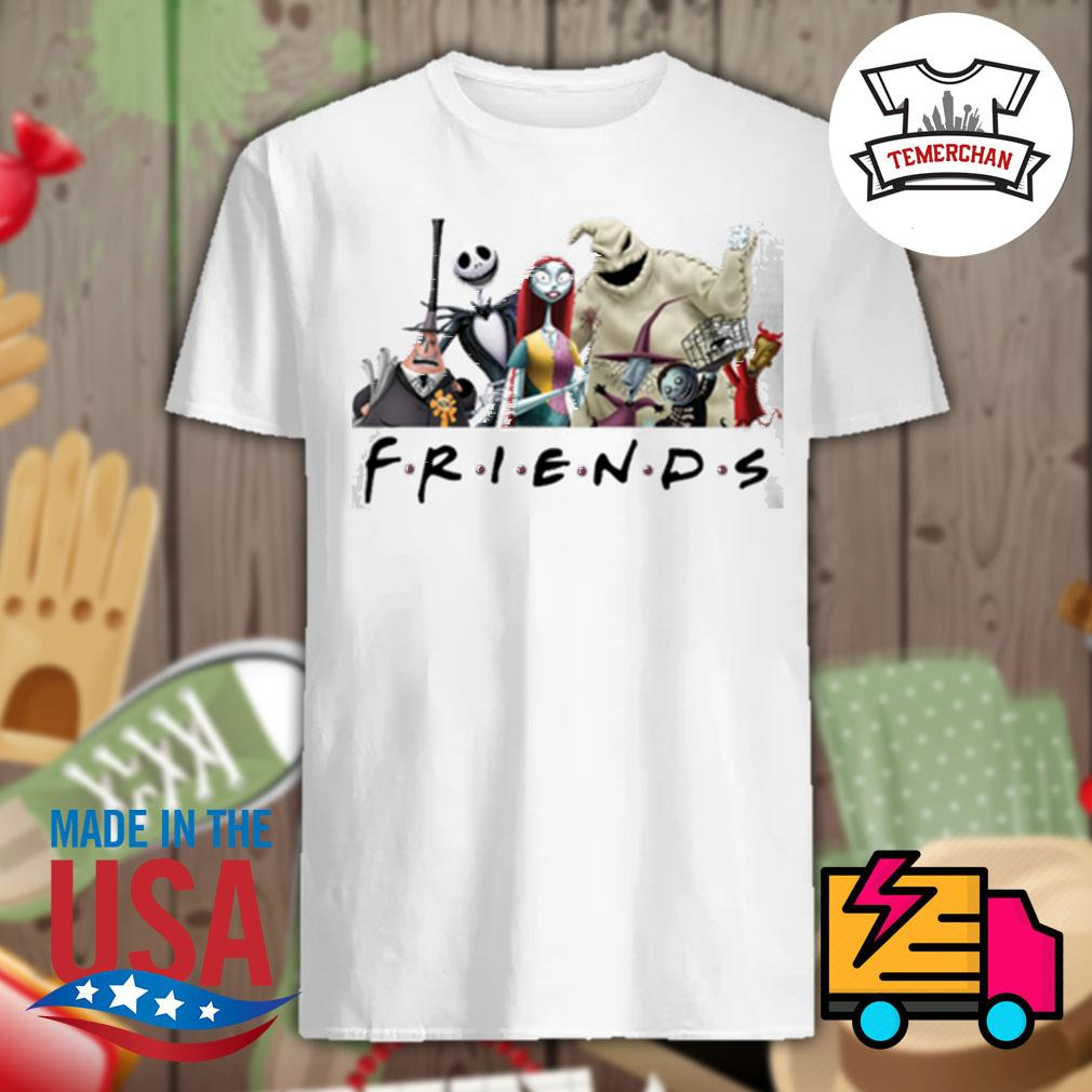 The Nightmare Before Christmas characters Friends shirt