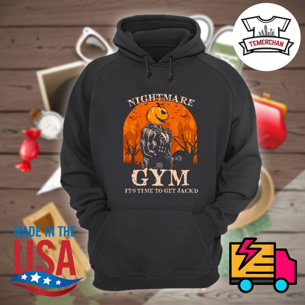 Jack Skellington Nightmare Gym it's time to get Jack'd Halloween s Hoodie