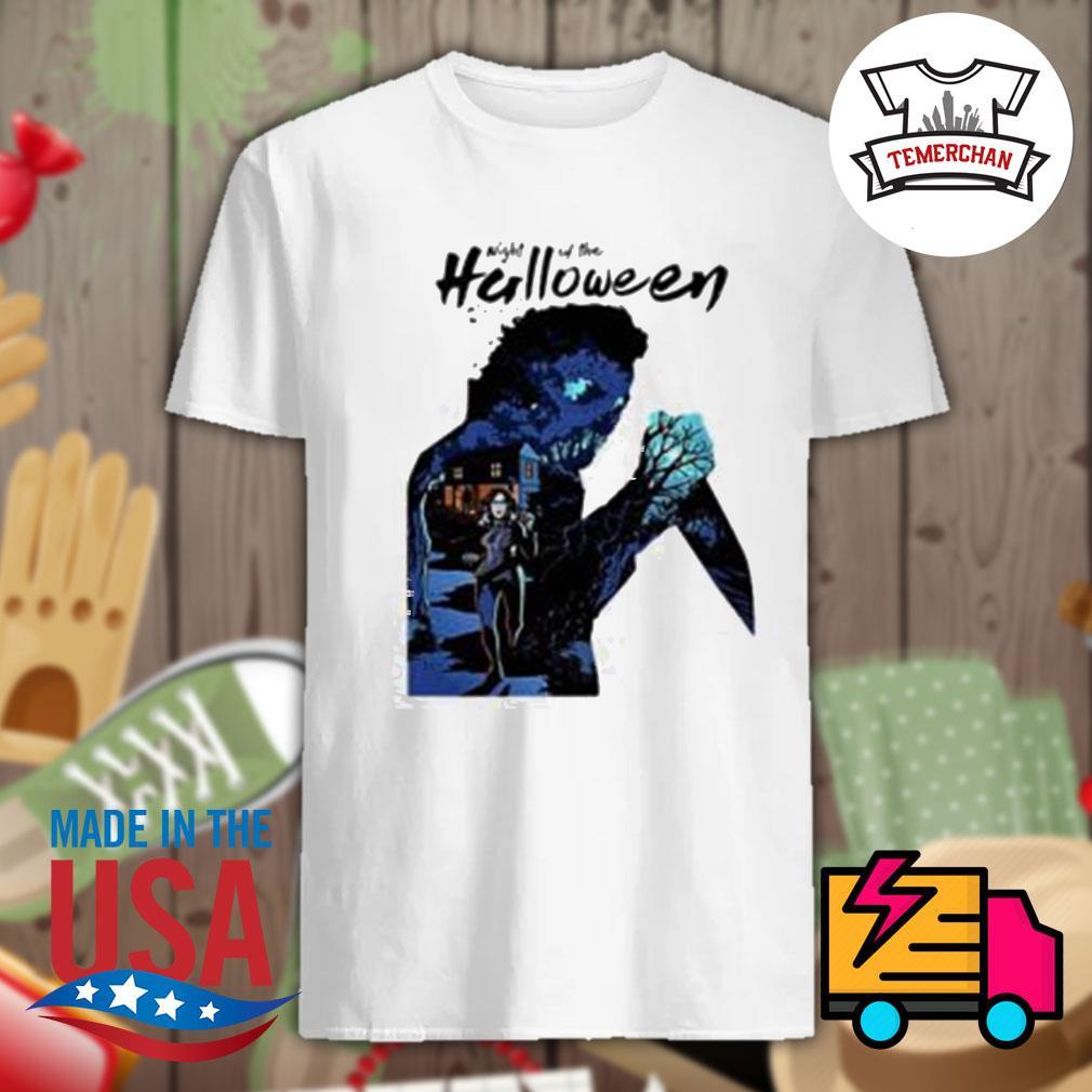 Michael Myers night of the Halloween shirt