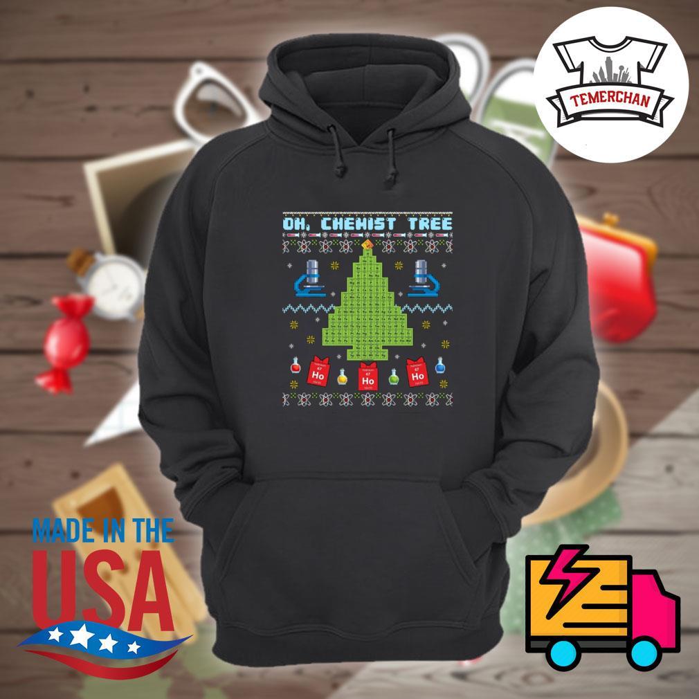 Oh chemist tree Merry Christmas s Hoodie