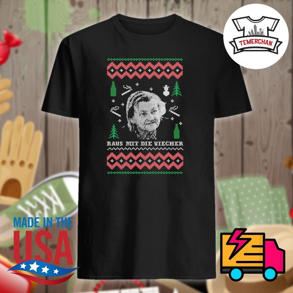 Raus Mit die Viecher Christmas sweater