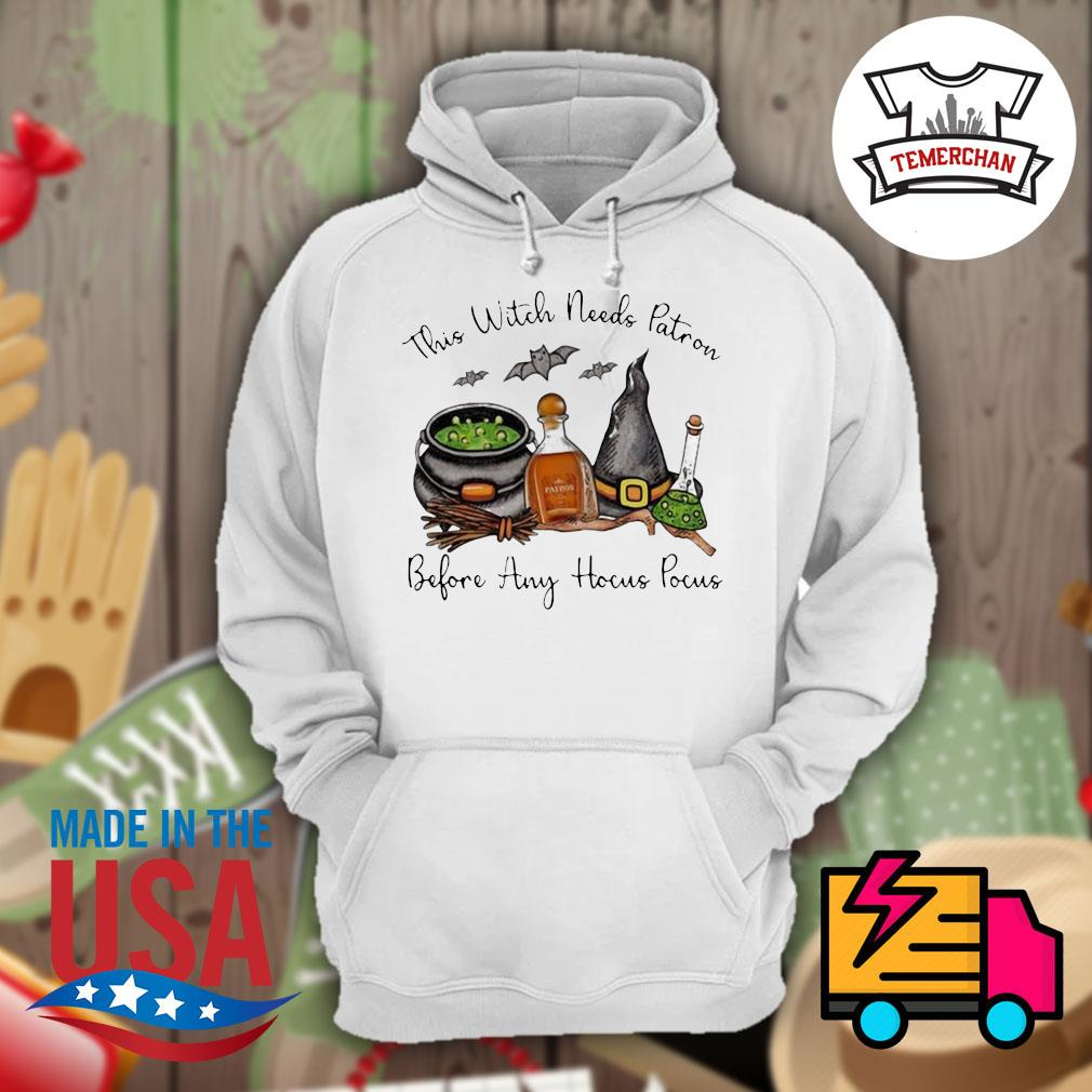 This Witch needs Patron Before any Hocus Pocus Halloween s Hoodie