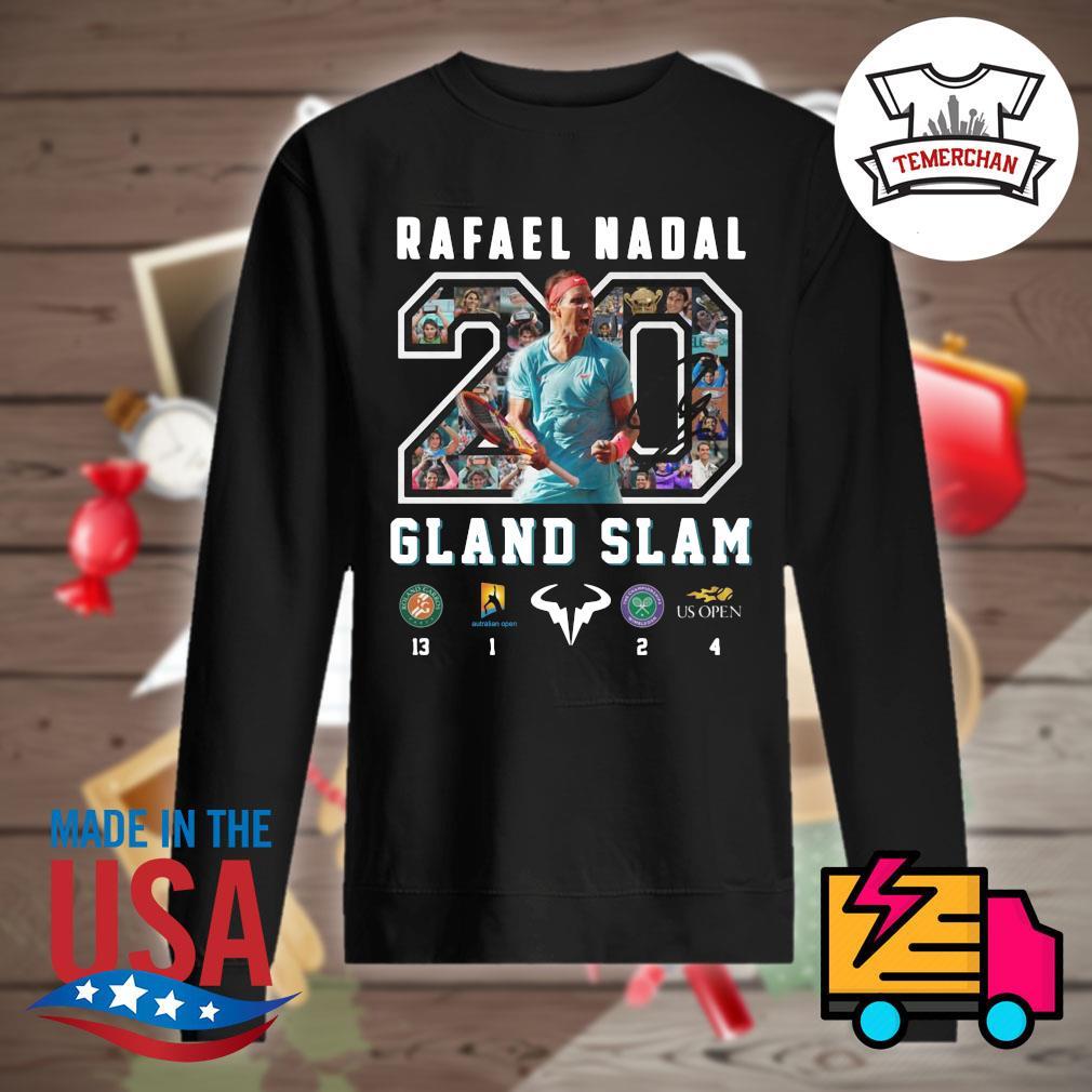 20 Rafael Nadal Gland Slam s Sweater