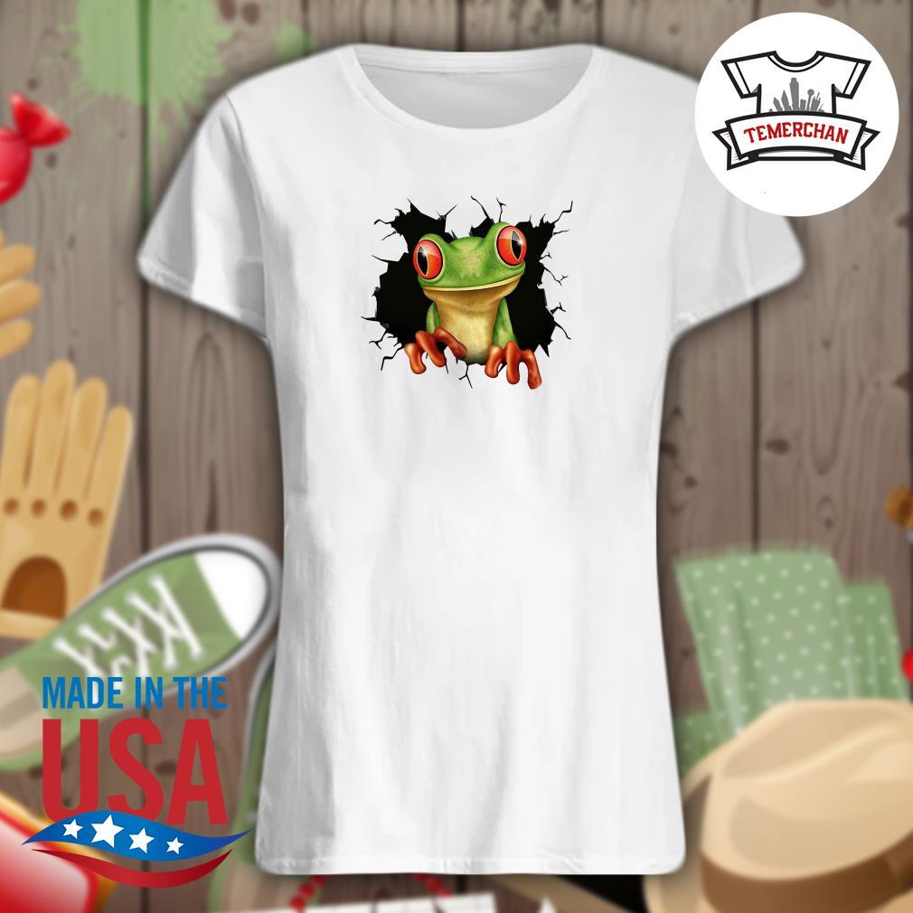 Blood inside me Frog Ladies t-shirt