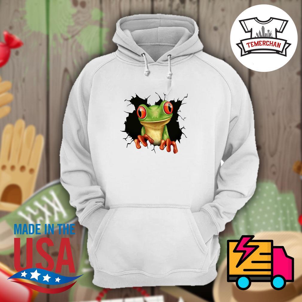 Blood inside me Frog Hoodie