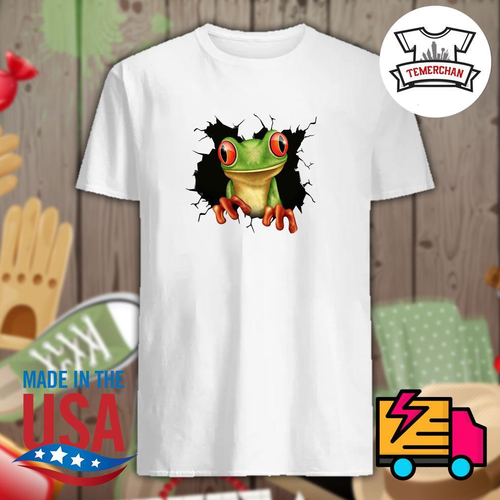 Blood inside me Frog shirt