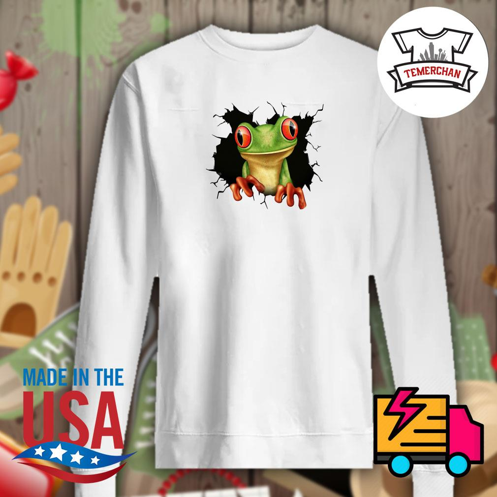 Blood inside me Frog Sweater