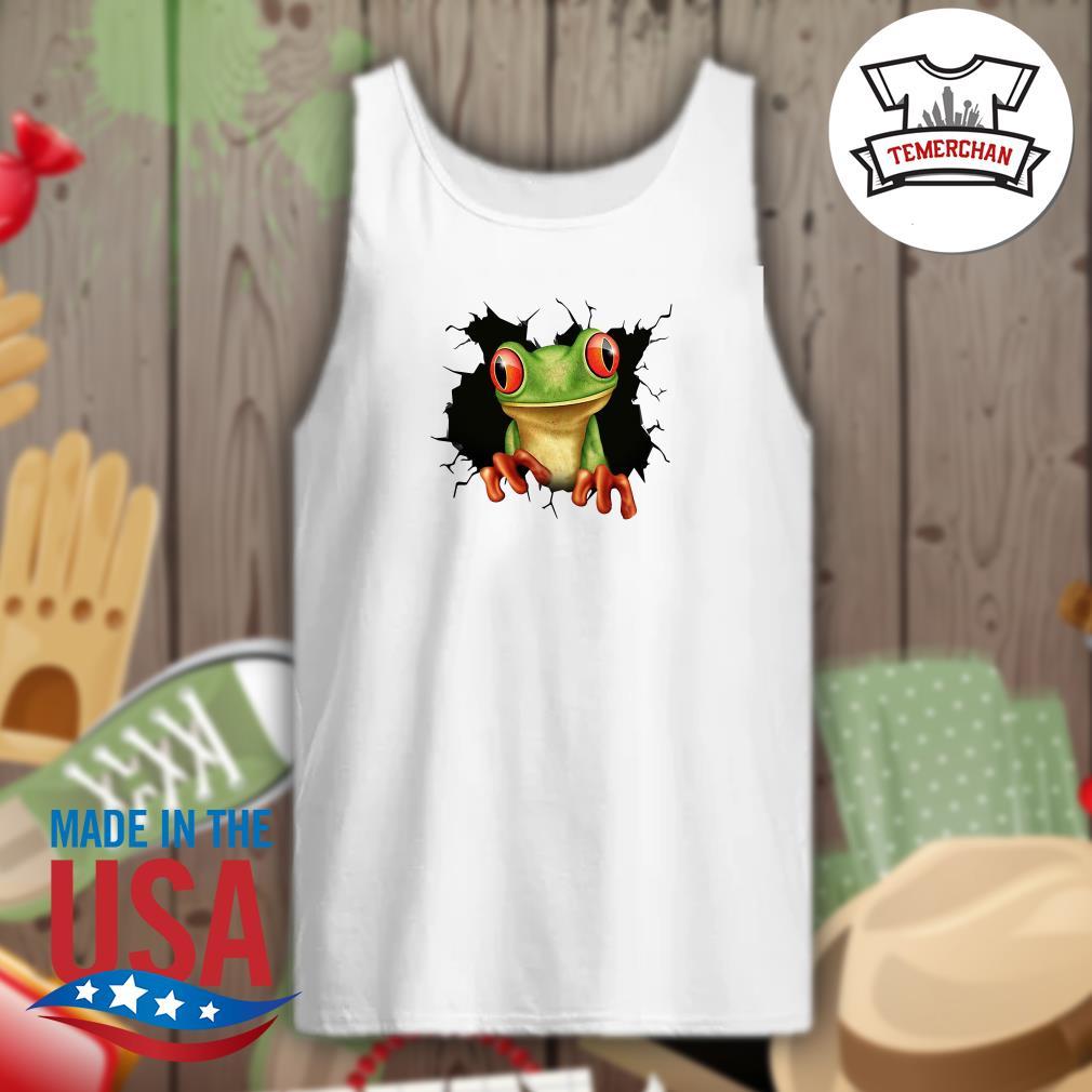 Blood inside me Frog Tank top