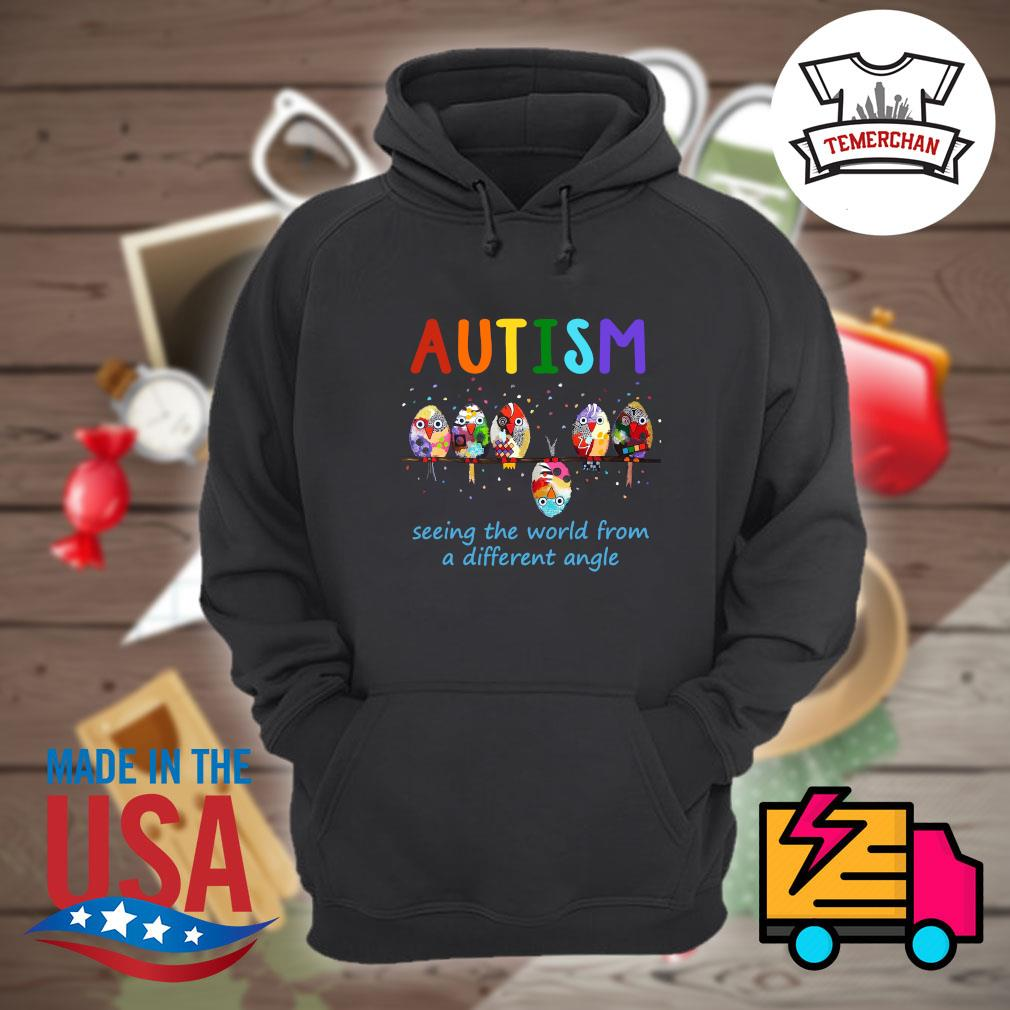 Autism Bird seeing the world from a different angle s Hoodie