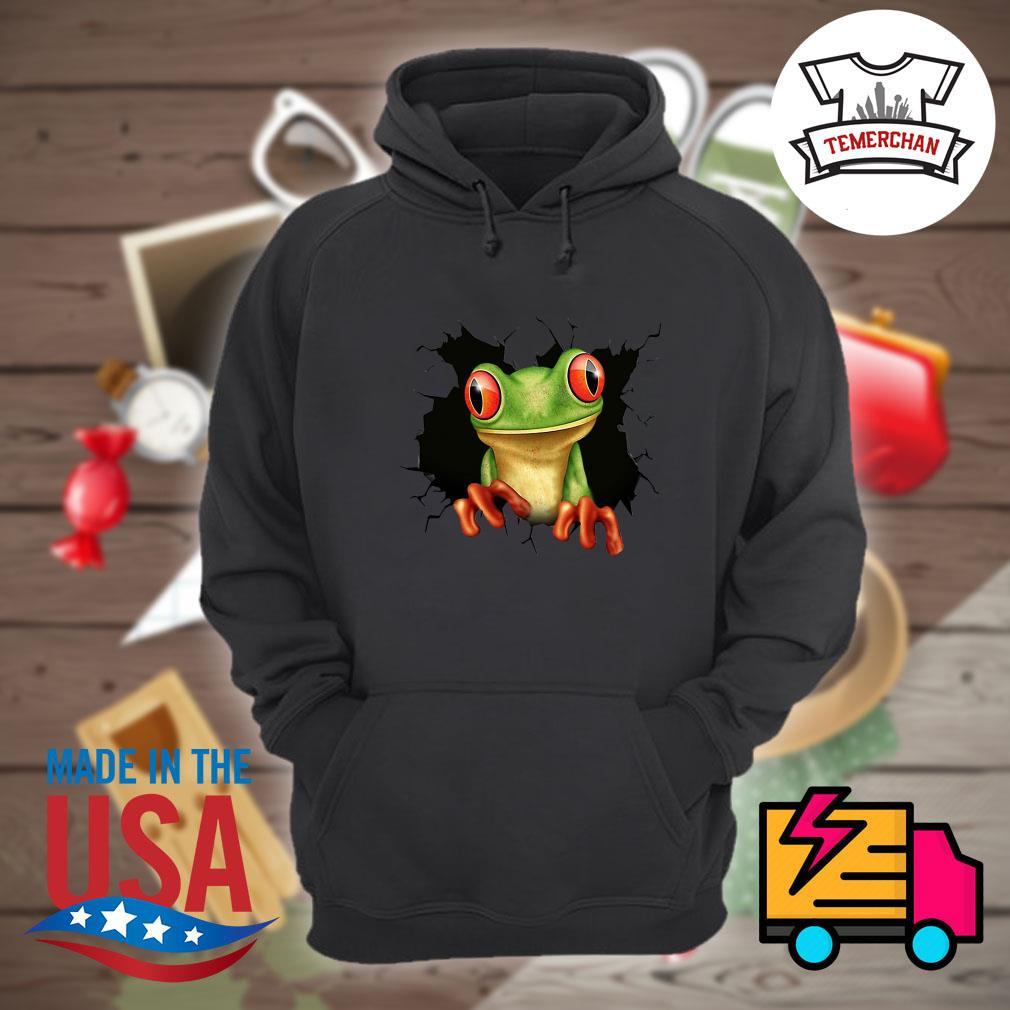 Blood inside me Frog s Hoodie
