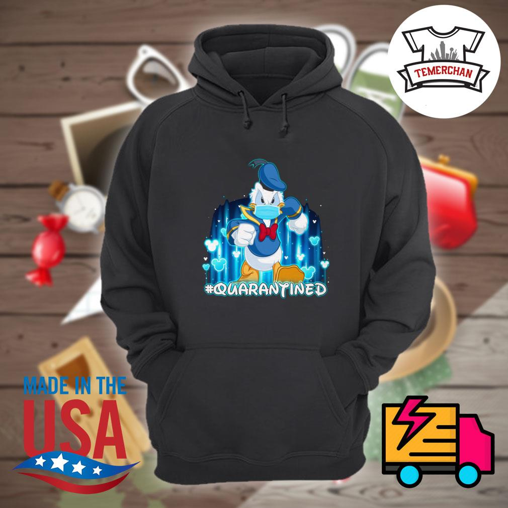 Disney Donald duck face mask quarantined s Hoodie