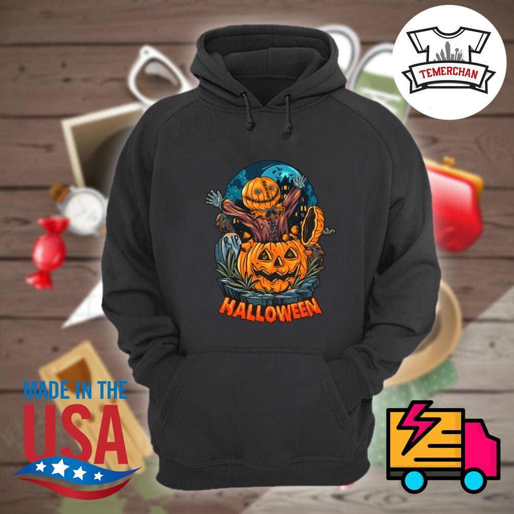 Pumpkin zombie Halloween s Hoodie