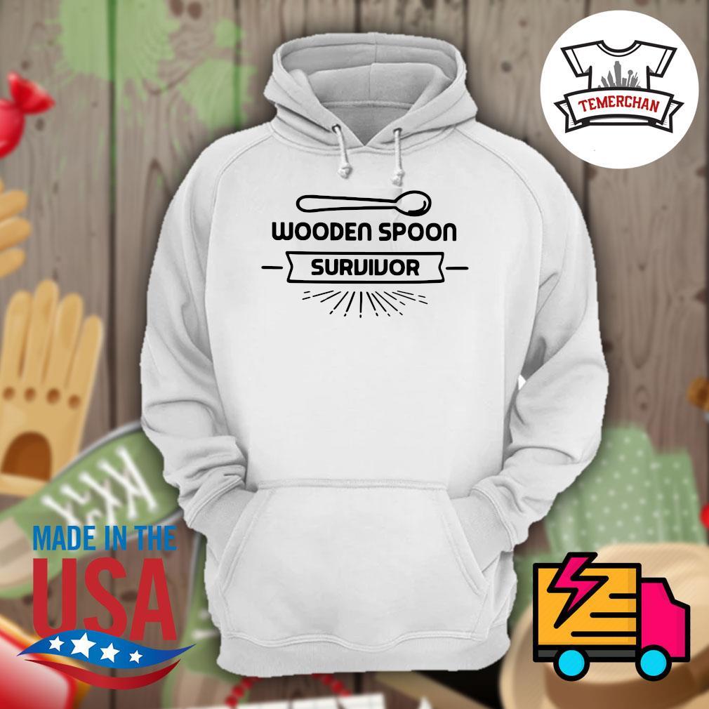 Wooden Spoon survivor s Hoodie
