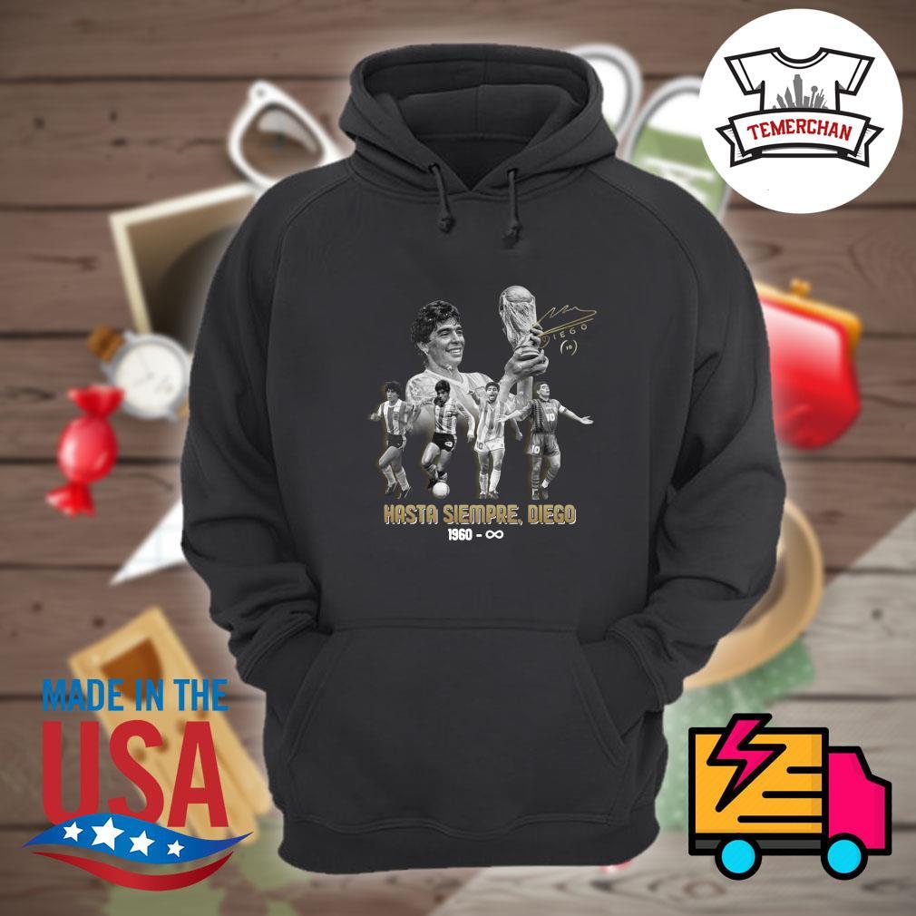 Diego Maradona Hasta Siempre Diego 1960 forever s Hoodie