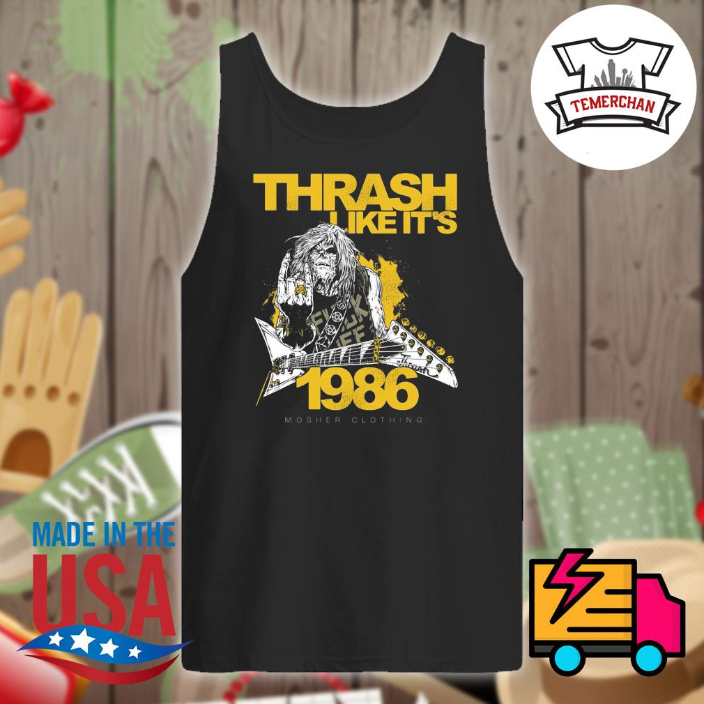 Thrash like it's 1986 s Tank-top