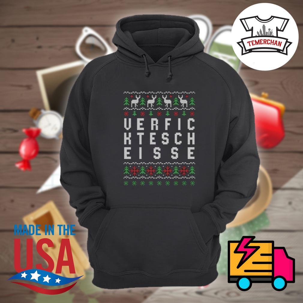 Verfic ktesch eisse ugly Christmas sweater Hoodie
