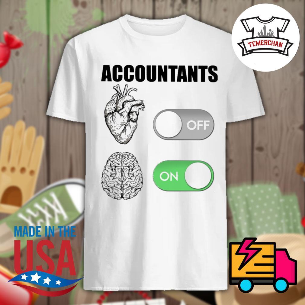 Accountants off on shirt