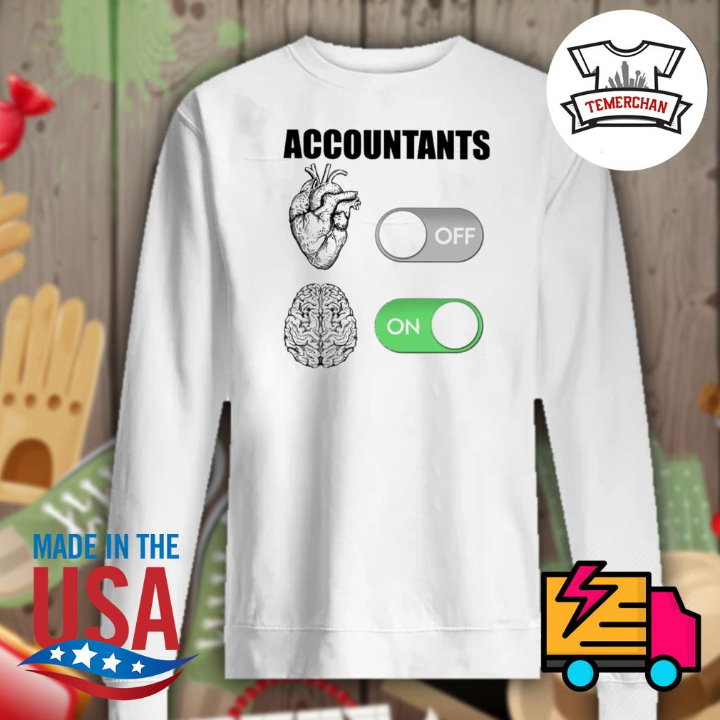 Accountants off on s Sweater