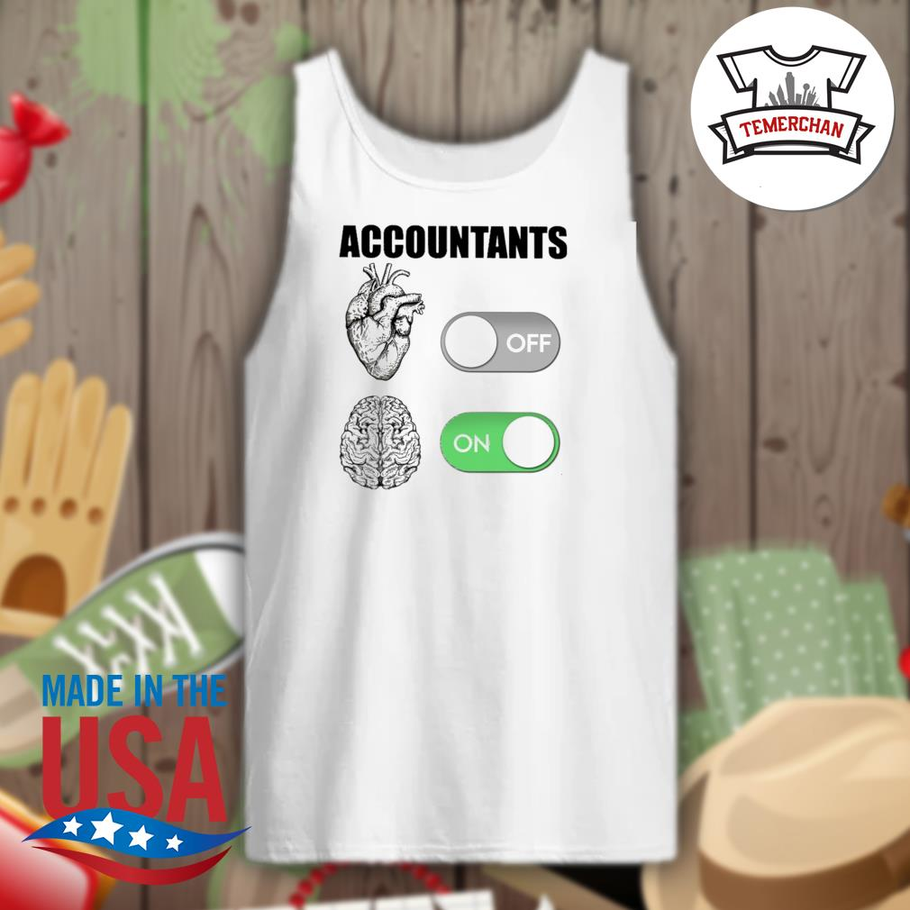 Accountants off on s Tank-top