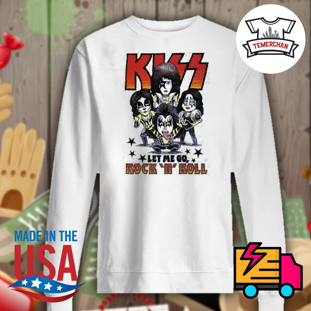 Amplified Kiss chibi let me go Rock 'N' Roll s Sweater