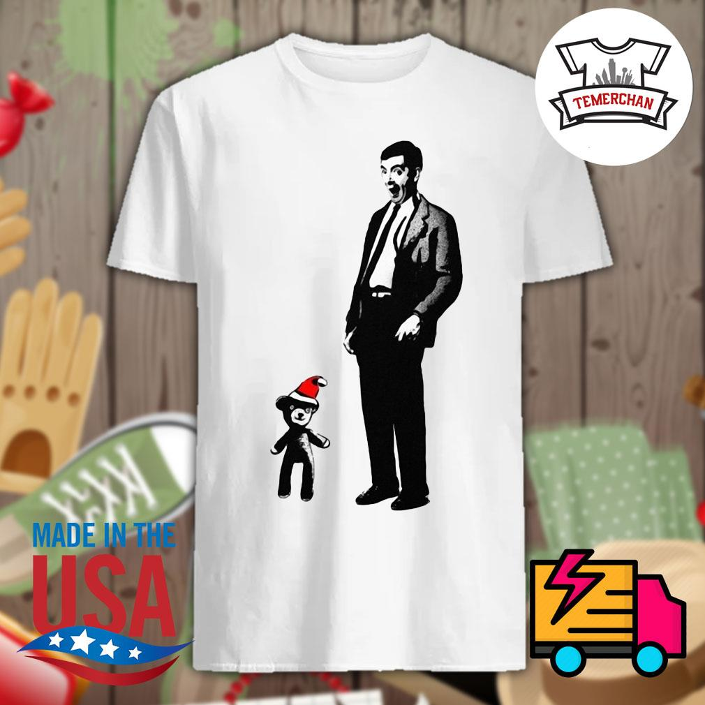 Mr Bean and Teddy Christmas shirt